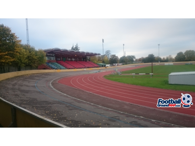 A photo of Palmer Park Stadium uploaded by biscuitman88