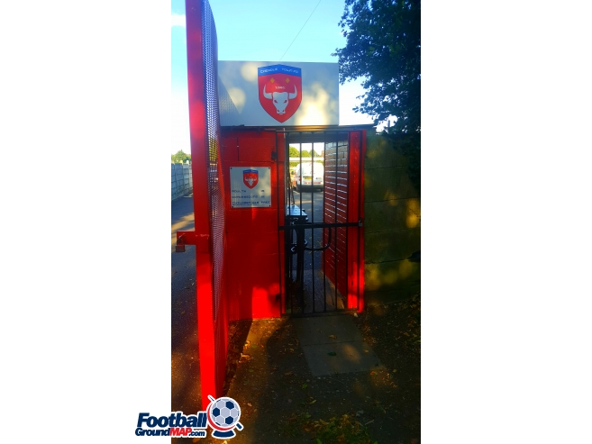 A photo of Park Road Stadium uploaded by ground-rabbit