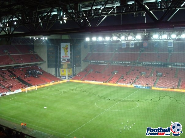 A photo of Parken Stadium uploaded by facebook-user-4376