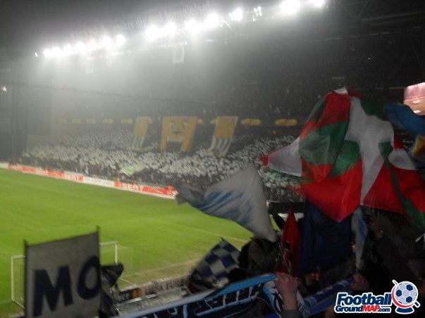 A photo of Parken Stadium uploaded by facebook-user-100186