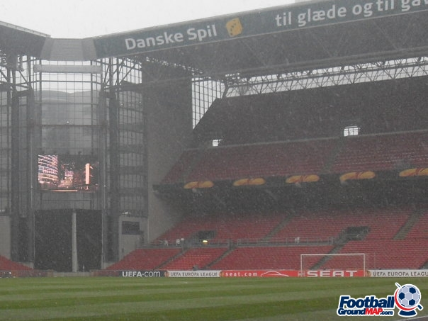 A photo of Parken Stadium uploaded by facebook-user-100186