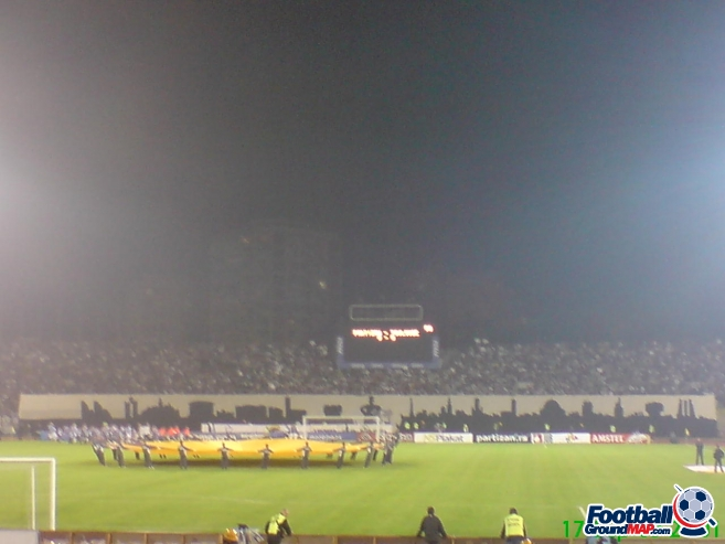 A photo of Partizan Stadium uploaded by facebook-user-50094