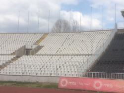An image of Partizan Stadium uploaded by siralf