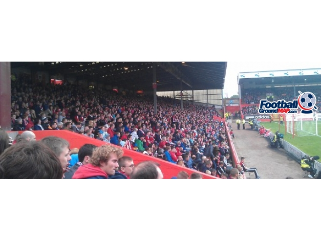 A photo of Pittodrie uploaded by benmac9