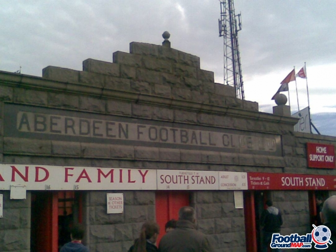 A photo of Pittodrie uploaded by pete125