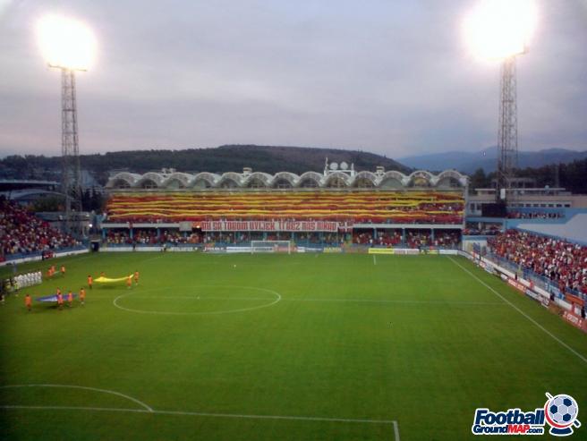 A photo of Podgorica City Stadium uploaded by newrynyuk