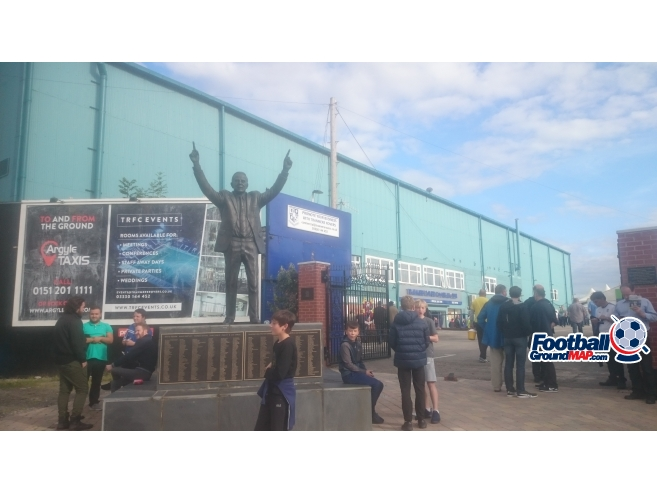 A photo of Prenton Park uploaded by biscuitman88