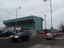 An image of Prenton Park uploaded by covboyontour1987