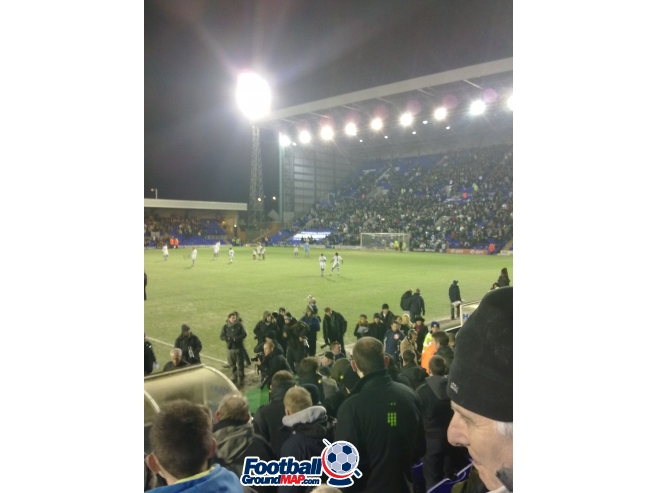 A photo of Prenton Park uploaded by planty37