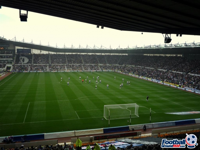 A photo of Pride Park uploaded by machacro
