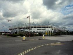 An image of Pride Park uploaded by machacro