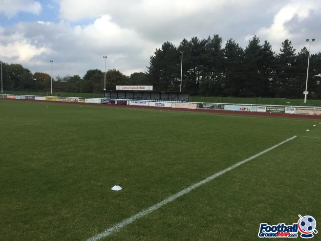 A photo of Queen Elizabeth II Stadium uploaded by groundhopper91
