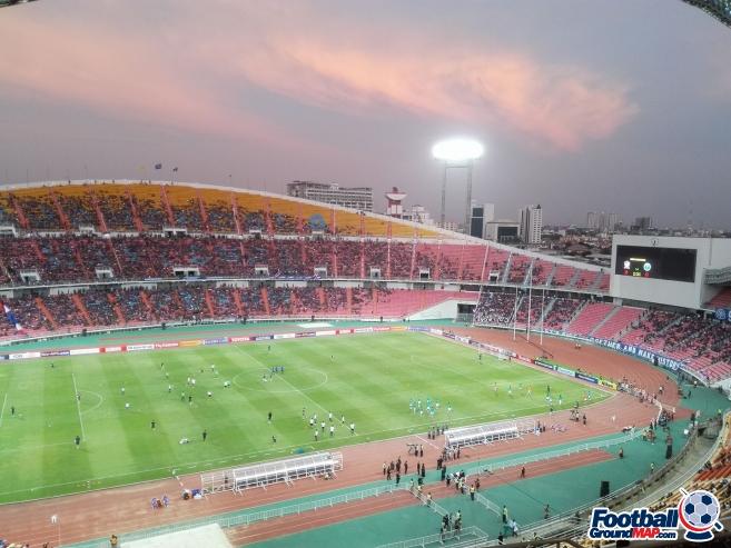 A photo of Rajamangala Stadium uploaded by hookman13
