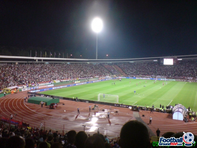 A photo of Rajko Mitic Stadium uploaded by facebook-user-50094