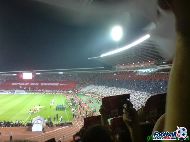 A photo of Rajko Mitic Stadium uploaded by facebook-user-50094