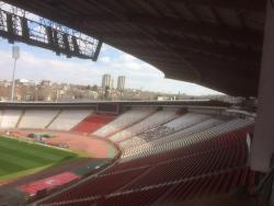 An image of Rajko Mitic Stadium uploaded by siralf