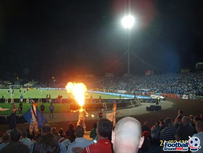 A photo of Ramat Gan Stadium uploaded by garycraggs