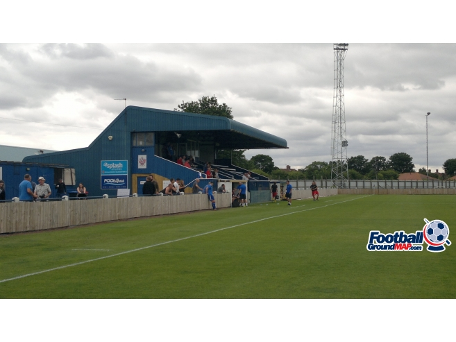 A photo of Ron Greig Stadium uploaded by phibar