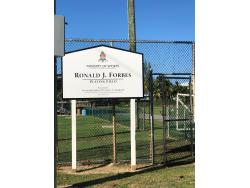 Ronald Forbes Football Field (North Side)