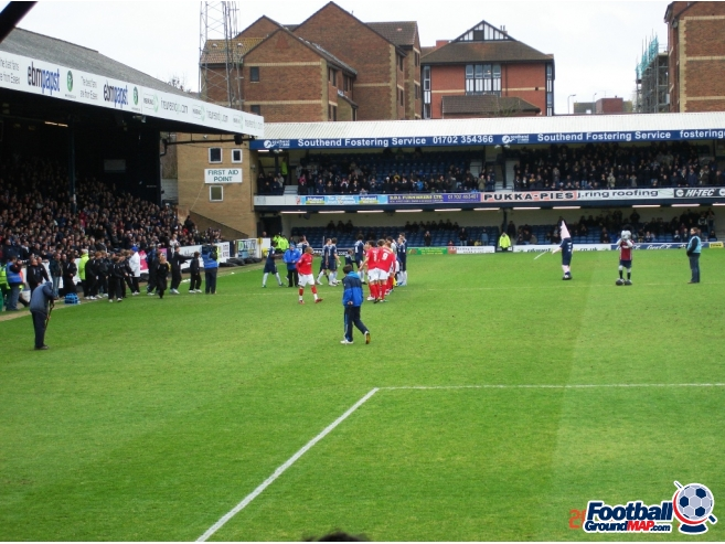 A photo of Roots Hall uploaded by saintshrew