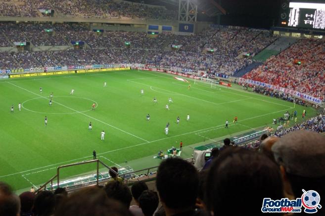 A photo of Saitama Stadium uploaded by newrynyuk