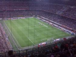 An image of San Siro (Stadio Giuseppe Meazza) uploaded by dannyptfc