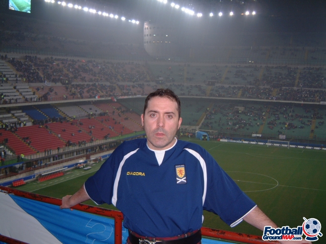 A photo of San Siro (Stadio Giuseppe Meazza) uploaded by mikethedee