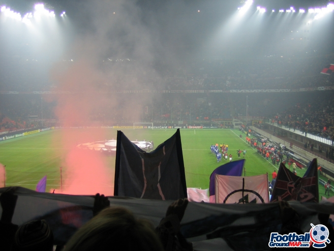 A photo of San Siro (Stadio Giuseppe Meazza) uploaded by facebook-user-88898