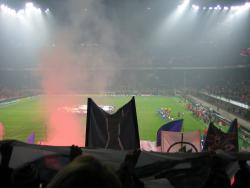 An image of San Siro (Stadio Giuseppe Meazza) uploaded by facebook-user-88898