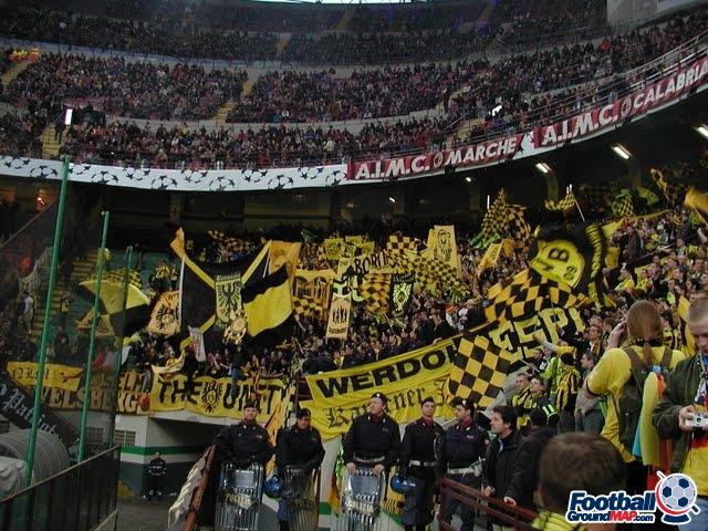 A photo of San Siro (Stadio Giuseppe Meazza) uploaded by snej72
