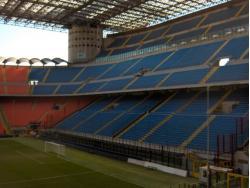 An image of San Siro (Stadio Giuseppe Meazza) uploaded by simon