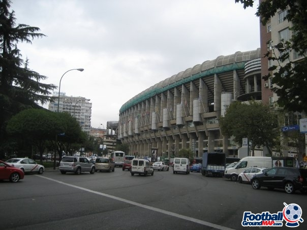 A photo of Santiago Bernabeu uploaded by facebook-user-100186
