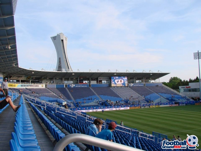 A photo of Saputo Stadium uploaded by kburkgren