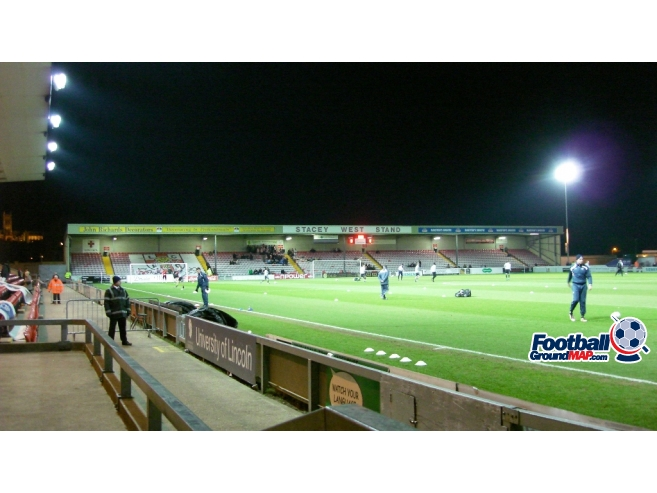 A photo of Sincil Bank uploaded by saintshrew