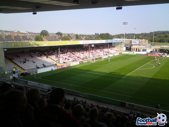 A photo of Sincil Bank uploaded by biscuitman88