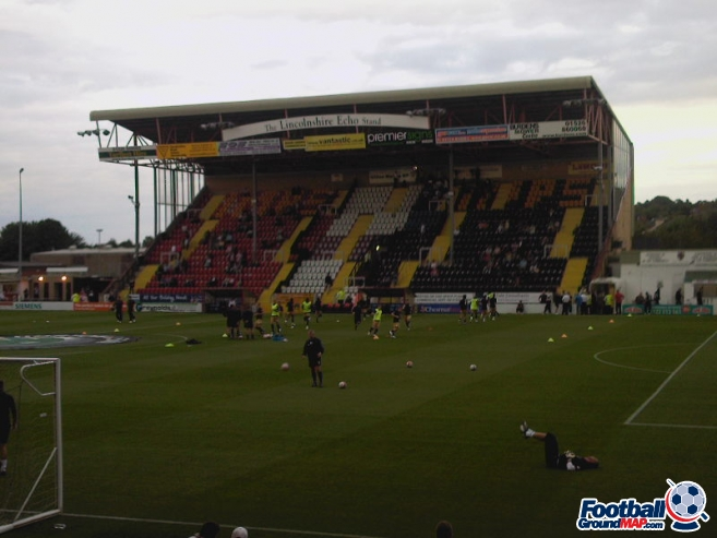 A photo of Sincil Bank uploaded by ashleyjarnoball