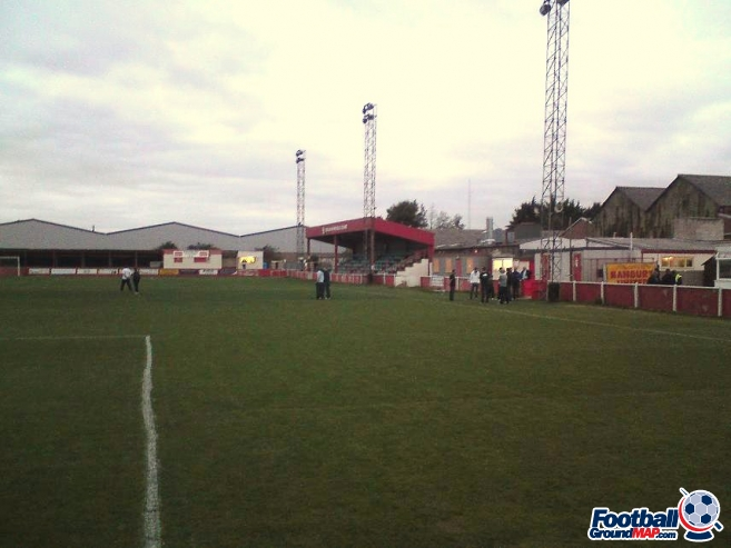 A photo of Spencer Stadium uploaded by cls14