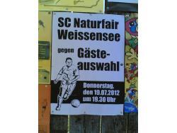 Sportplatz Fussballplatz Weissensee