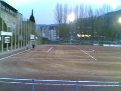 Sportplatz in Sonnborn - Asche abgerissen