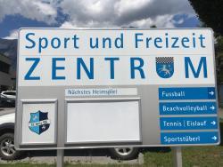 Sportplatz Mils - Kunstrasen Nebenplatz