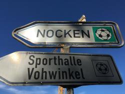 Sportplatz Nocken - neuer Kunstrasenplatz