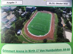 Sportplatz Velbert Birth - Kunstrasenplatz