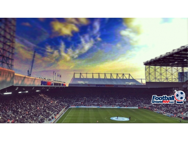 A photo of St James' Park uploaded by alsp8