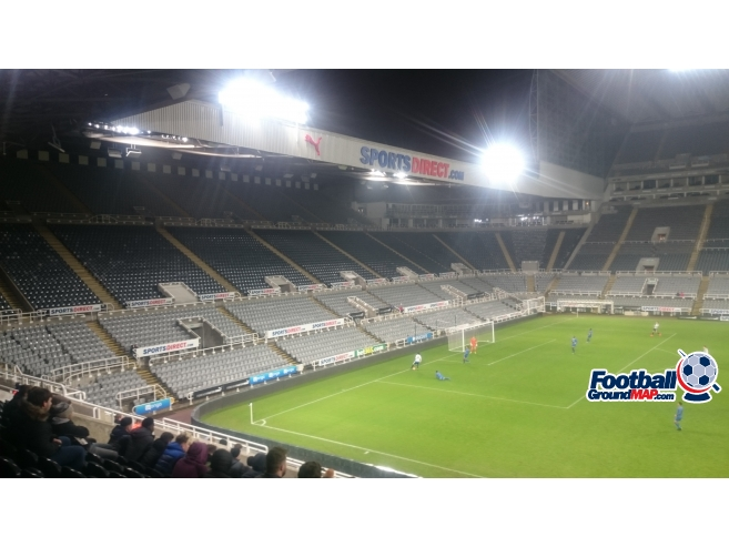 A photo of St James' Park uploaded by biscuitman88