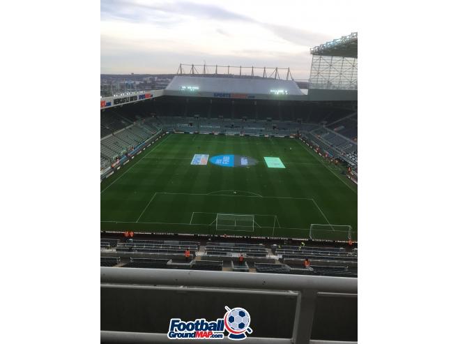 A photo of St James' Park uploaded by hoovertheginger
