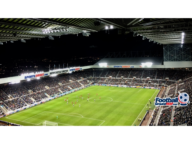 A photo of St James' Park uploaded by ontheroad