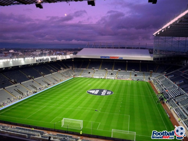 A photo of St James' Park uploaded by machacro