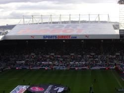An image of St James' Park uploaded by smithybridge-blue