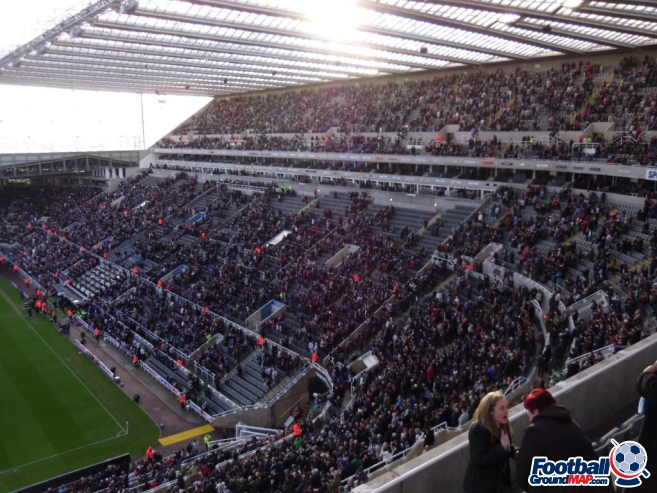 A photo of St James' Park uploaded by smithybridge-blue