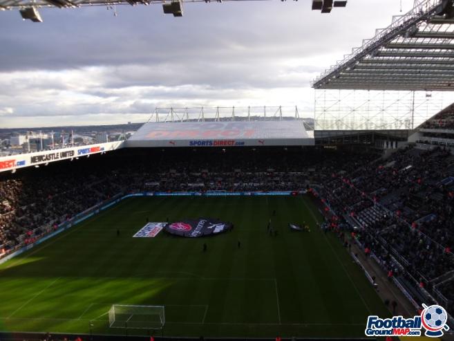 A photo of St James' Park uploaded by smithybridge-blue